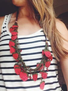 Kisa Collection Red Necklace